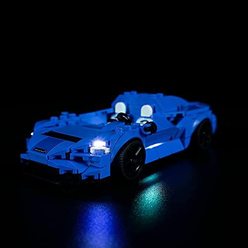 QXQY Led Beleuchtungsset für Lego 76902 Speed Champions McLaren...