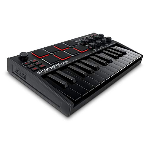 AKAI Professional MPK Mini MK3 – 25-Tasten USB MIDI Keyboard...