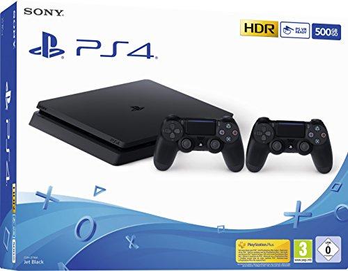 PlayStation 4 - Konsole (500 GB, schwarz, slim,...