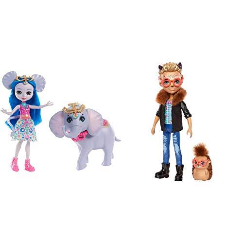 Mattel Enchantimals FKY73 Themenpack Ekaterina Elephant, Spiel, Bunt &...
