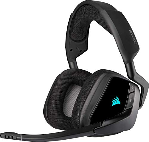 Corsair Void Elite RGB Wireless Gaming Headset (7.1 Surround Sound,...