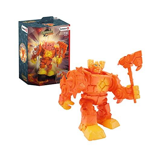 Schleich 42545 Spielfigur - Eldrador Mini Creatures Lava-Roboter...