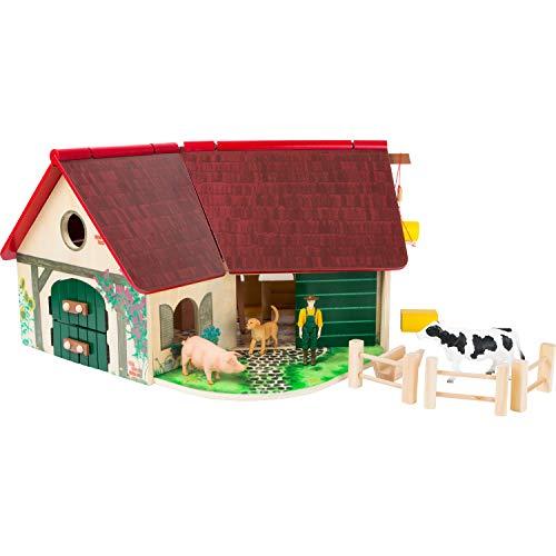 Woodfriends Bauernhof aus FSC® 100%-zertifiziertem Holz, mit...