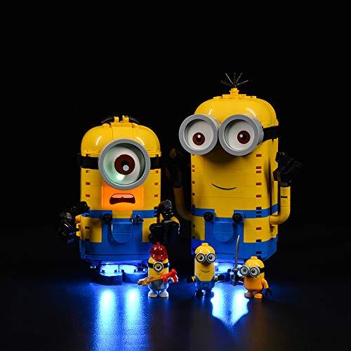 Hosdiy Beleuchtung Set Kompatibel mit Lego Minions 75551, Led Licht...