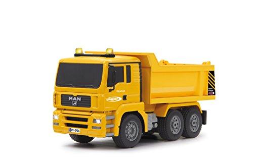 Jamara 405002 - Muldenkipper MAN 1:20 2,4G - Kippmulde hoch / runter, realistischer Motorsound, Hupe,...