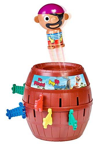 TOMY T7028A1 Kinderspiel 'Pop Up Pirate', Hochwertiges...