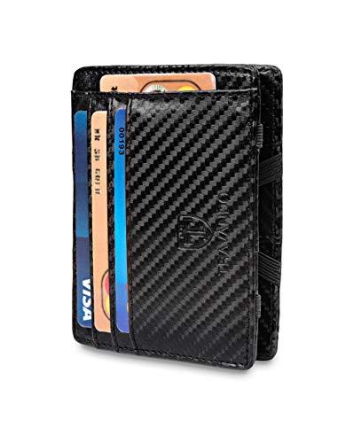 TRAVANDO ® Magic Wallet mit Münzfach Vegas Geldbörse Herren klein...