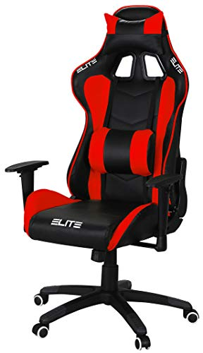 ELITE Racing Gaming Stuhl MG-200 - Bürostuhl – Kunstleder -...