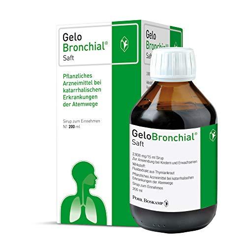 GeloBronchial Saft, 200ml - Starke Schleimlösung und...