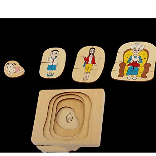 Dongbin Multi-Layer-Puzzle frühe Bildung Bildungs-Spielzeug,...