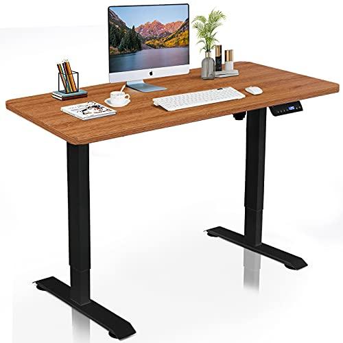 DCHOUSE höhenverstellbarer Schreibtisch elektrisch mit...