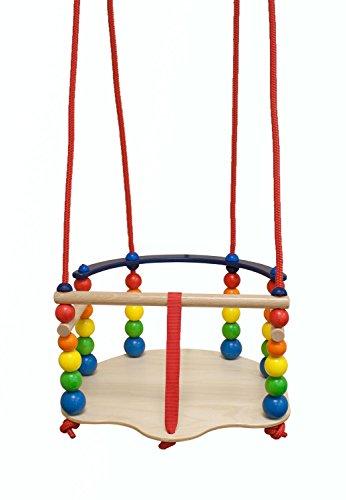 Hess Holzspielzeug 31103 - Gitterschaukel aus Holz, handgefertigt,...