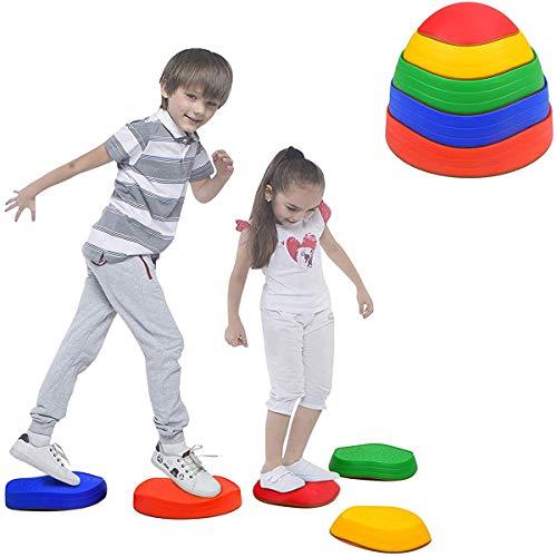 Poached egg Balance Trittsteine für Kinder, 5 Balance Steine für...