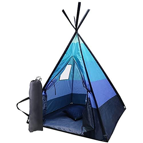 Tipi-Zelt für Kinder Tipi Spielzelt Indianerzelt mit UV-Schutz...