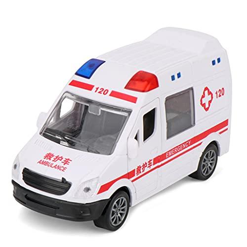 GASSDINER Miniatur-pädagogisches Trägheitsauto Feuerwehrauto...