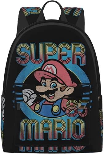 Amacigana Super Mario Kinder-Schulrucksack- Kind-Rucksack für...