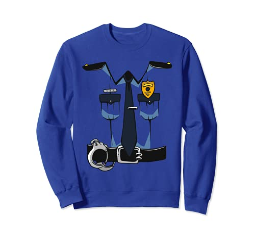 Police Uniform DIY Easy Costume Halloween Adults Kids Police...