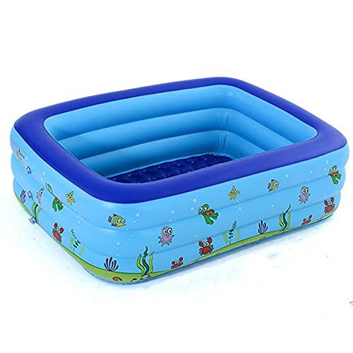 Aufblasbare Pool, Großer Familienpool für Kinder ab 3 Jahren,...