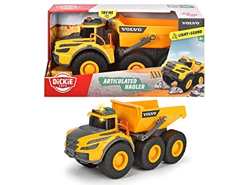 Dickie Toys 203723004 Volvo Knickgelenkter Dumper, Kipper,...