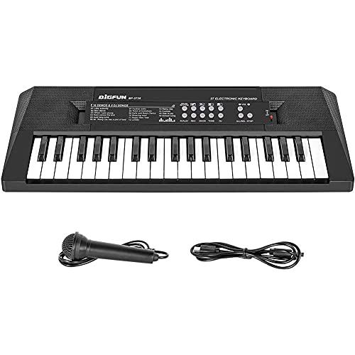 Kinder Piano Keyboard Elektrische 37 Schlüssel Mit Mikrofon...