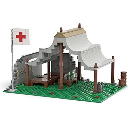 WWEI Modular Haus Architektur, WWII Militär Armee Rettungsstation...
