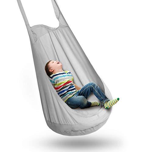 FIMALIAN® Hängesessel Kinder | inklusive Montage-Kit | für Kinder &...