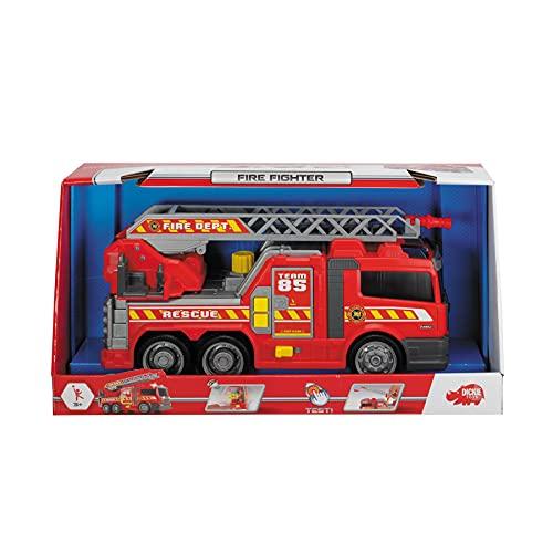 DICKIE 203308371 Toys Fire Fighter, Feuerwehrauto, Spielzeugauto,...
