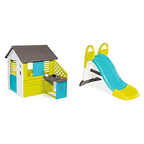 Smoby – Pretty Haus - Spielhaus für Kinder für drinnen und...