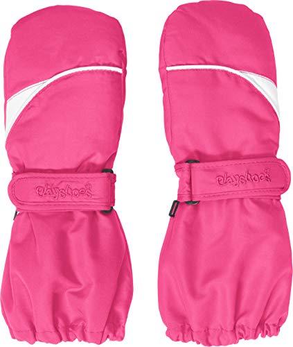 Playshoes Kinder Fäustlinge mit Thinsulate-Technik und langem Schaft warme Winter-Handschuhe mit...