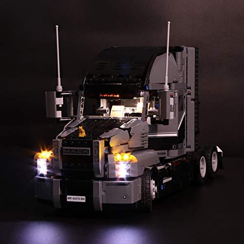 Mecotecn LED Beleuchtung Zubehör für Lego Technic 42078 Mack Anthem Konstruktionsspielzeug (Lego Modell...