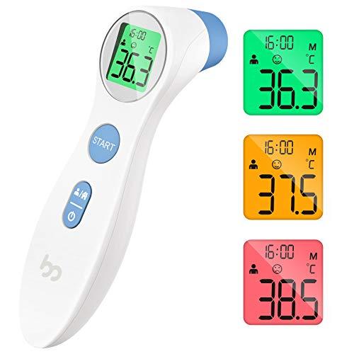 Fieberthermometer kontaktlos infrarot Stirnthermometer für Babys...