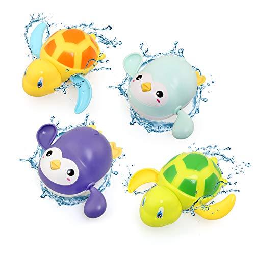 BelleStyle Baby Badespielzeug, Badewannenspielzeug für Baby Kinder Ab...