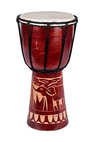 Djembe Trommel Bongo Drum Handtrommel Buschtrommel Percussion Kinder...