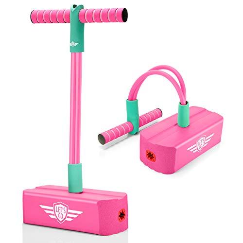 EUTOYZ Pogo Stick, Geschenke für Mädchen ab 3-12 Spielzeug ab 4 5 6 7 8 Jahre für Mädchen stelzen Kinder...