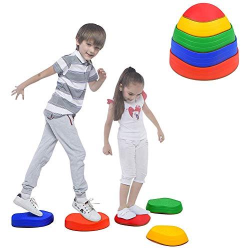 Oyria Trittsteine für Kinder, stapelbar, Balance-Block-Spiel mit...