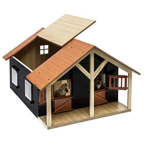 Van Manen 610167 - Kids Globe Farming Pferdestall Holz, Maßstab 1:24...