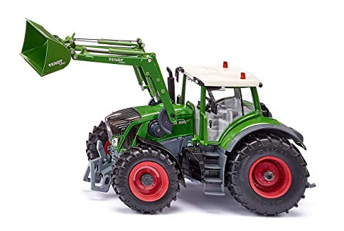 siku 6793, Fendt 933 Vario Traktor mit Frontlader, Grün, Metall/Kunststoff, 1:32, Ferngesteuert, Steuerung...