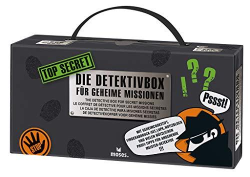 Moses. 30711 Top Secret-Detektivbox | 12 in 1 Detektivkoffer |...