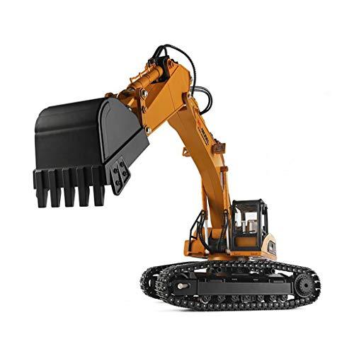PBTRM Raupenbagger Professioneller 23 Kanal RC Bagger, Ferngesteuerte Metall Traktor 1/16 2.4G Vollfunktion...