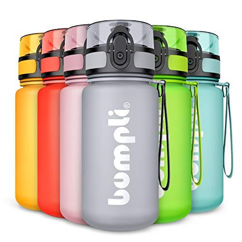 bumpli® Kinder Trinkflasche SoftTouch - auslaufsicher & Kohlensäure...