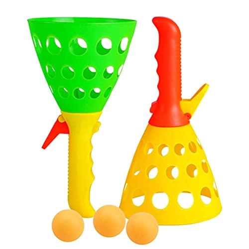 LITU Kinder Launch Fang Ball Spiel Set, Launch Fang Ball Spiel, Launch...