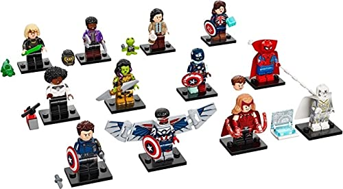 LEGO Marvel Serie 1 Komplettes Set mit 12 Minifiguren 71031 (Beutel)