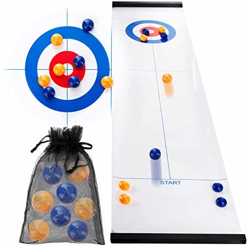 all Kids United® Curling Tabletop Spiel-Set - Familienspiel...
