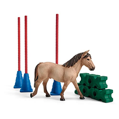 Schleich 42483 Farm World Spielset - Pony Slalom,...