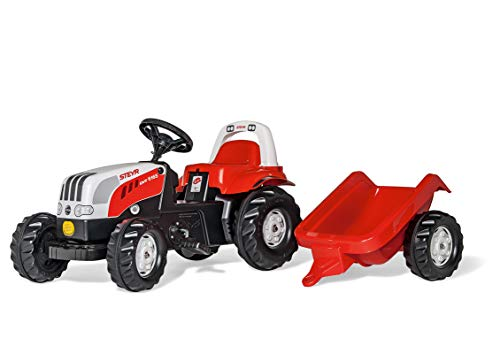 Rolly Toys 012510 - rollyKid Steyr 6165 CVT Trettraktor (mit...