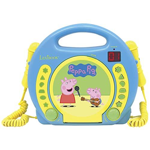 LINIEX Peppa Pig Karaoke CD Player w. Mikrophone (90064)