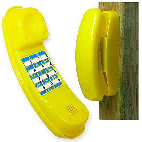 Gartenpirat Spiel-Telefon für Kinder aus Kunststoff gelb...
