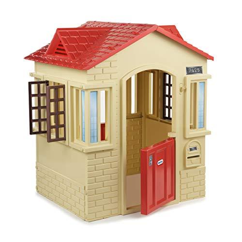 Little Tikes Cape Cottage Spielhaus mit Arbeitstüren, Fenstern und...