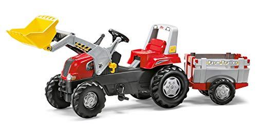 Rolly Toys 811397 rollyJunior RT   Traktor mit Frontlader   Lader und Anhänger rollyFarm Trailer  ...