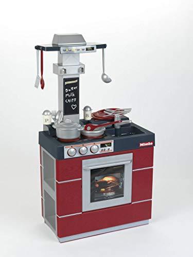 Theo Klein 9044 Miele Küche Kompakt I Kinder-Spielküche mit Ofen,...